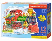 Puzzle MAXI Konturowe: Huff and Puff 12,