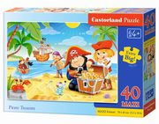 Puzzle Maxi Pirate Treasures 40,