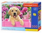 Puzzle Labrador Puppy in Pink Box 300,