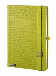 Notes A6 Idea Factory II zielony linia,