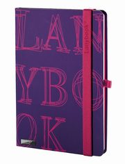 Notes A6 Lanybook LYO w linie fioletowy,