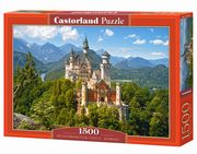 Puzzle Neuschwanstein Castle Germany 1500,
