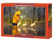 Puzzle Rainy Day Friends 500,