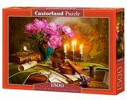 Puzzle 1500 Still Life with Violin and Flowers,