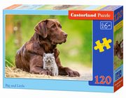 Puzzle Big and Little 120,