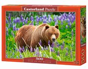 Puzzle Bear on the Meadow 500,