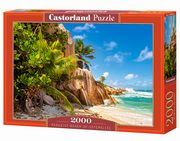 Puzzle Paradise Beach of Seychelles 2000,
