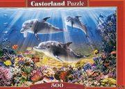 Puzzle 500 Dolphins Underwater,