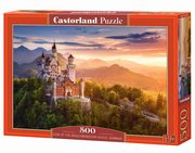 Puzzle View of the Neuschwanstein Castle, Germany 500,