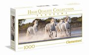 Puzzle 1000 High Quality Collection Panorama Running Horses,