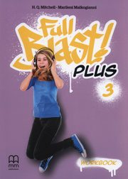 FULL BLAST PLUS 3 WORKBOOK (INCLUDES CD-ROM),
